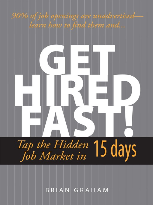 Title details for Get Hired Fast! by Brian Graham - Wait list