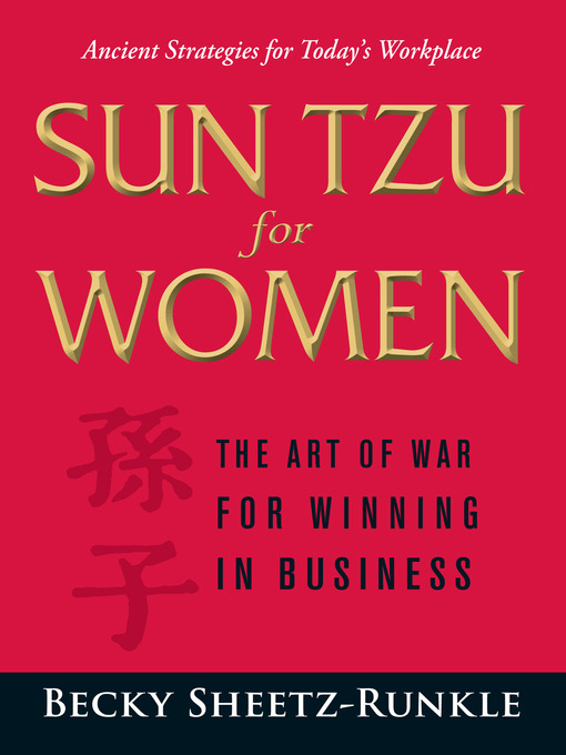 Title details for Sun Tzu for Women by Becky Sheetz-Runkle - Available