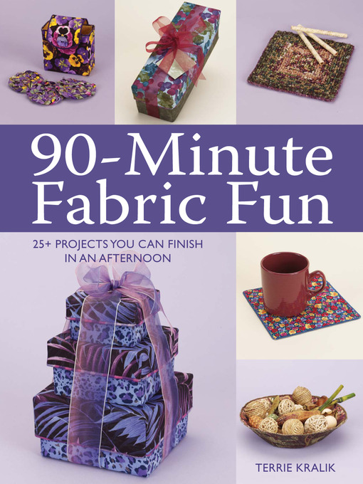 Title details for 90-Minute Fabric Fun by Terrie Kralik - Available