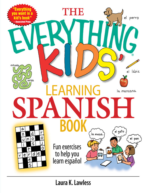 Cover of The Everything Kids' Learning Spanish Book