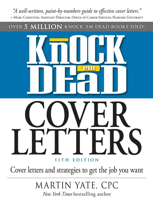 good career cover letters