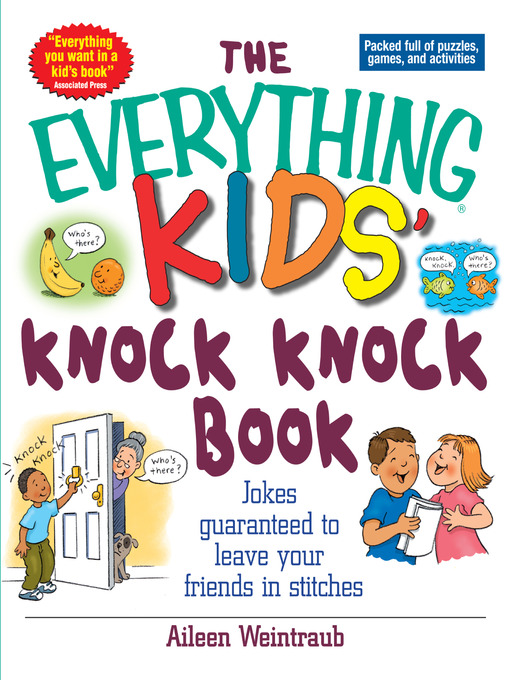 Title details for The Everything Kids' Knock Knock Book by Aileen Weintraub - Available