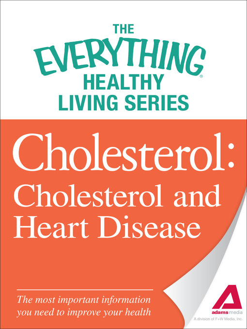 Title details for Cholesterol by Adams Media - Available