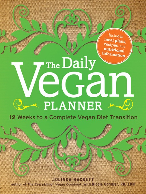 Title details for The Daily Vegan Planner by Jolinda Hackett - Available