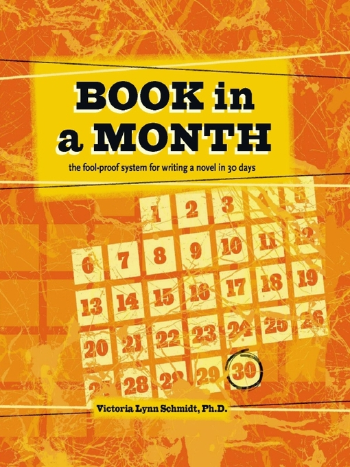 Title details for Book in a Month by Victoria Lynn Schmidt - Available