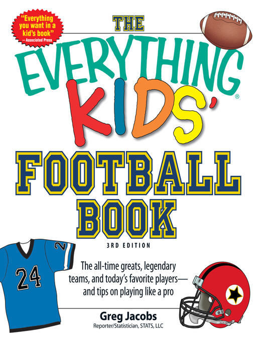 Title details for The Everything KIDS' Football Book by Greg Jacobs - Available