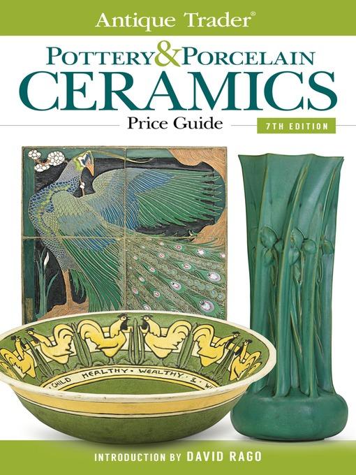 Cover image for Antique Trader Pottery & Porcelain Ceramics Price Guide