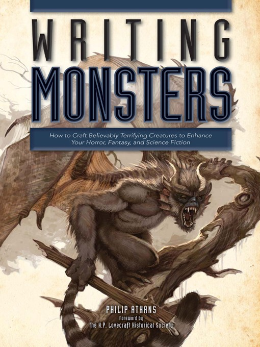 Cover image for Writing Monsters