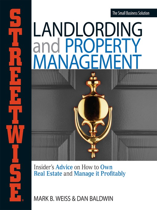 Title details for Streetwise Landlording & Property Management by Mark B. Weiss - Available