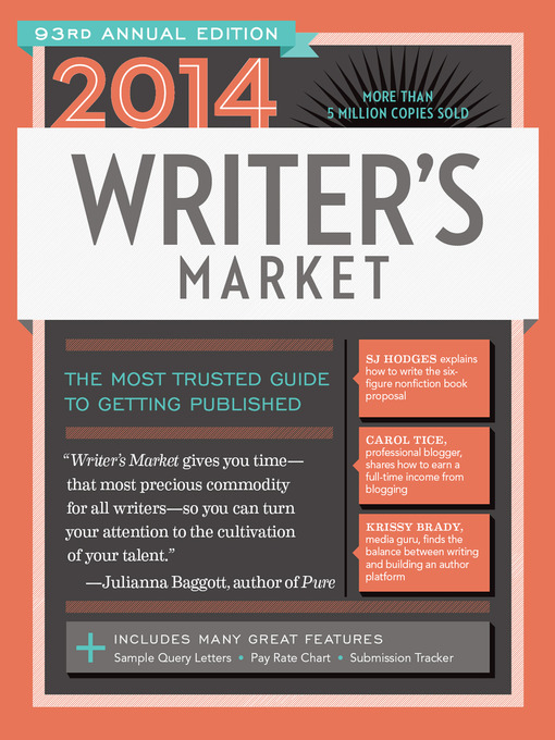 Title details for 2014 Writer's Market by Robert Lee Brewer - Available