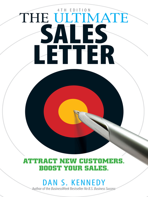 Title details for The Ultimate Sales Letter by Dan S. Kennedy - Available