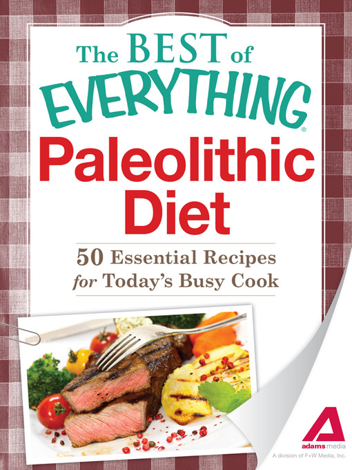 Cover of Paleolithic Diet