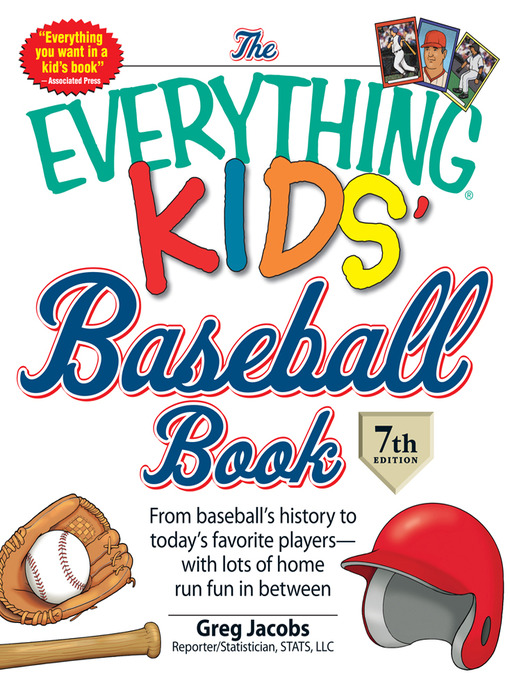 Cover of The Everything KIDS' Baseball Book