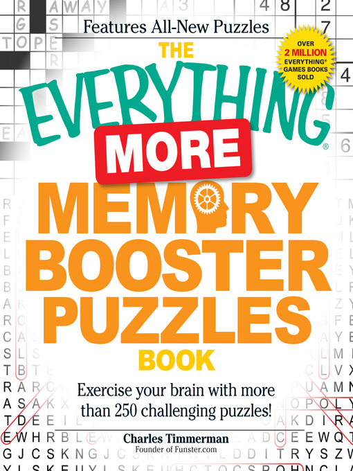 More Memory Booster Puzzles Book Exercise Your Brain with More than 250 Challenging Puzzles!