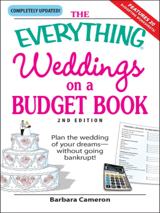 Title details for The Everything Weddings on a Budget Book by Barbara Cameron - Wait list