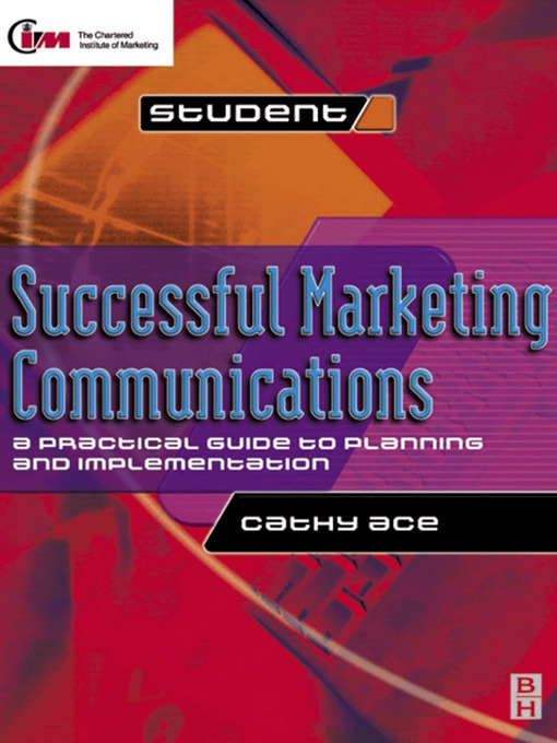 Title details for Successful Marketing Communications by Cathy Ace - Available