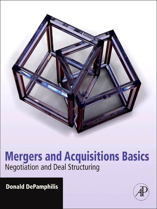 Title details for Mergers and Acquisitions Basics by Donald DePamphilis - Available