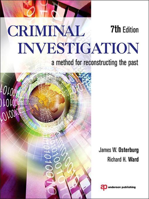 methods of criminal investigation