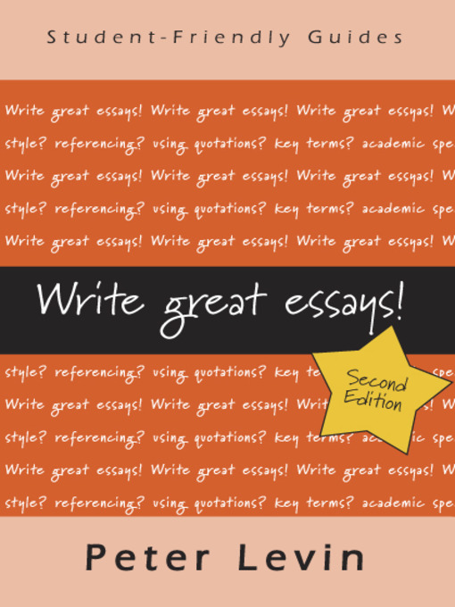 Title details for Write Great Essays by Peter Levin - Available
