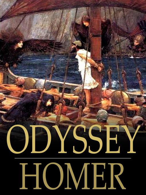 Title details for Odyssey by Homer - Wait list