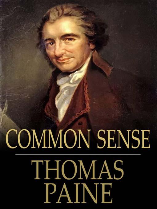 common sense thomas paine 1