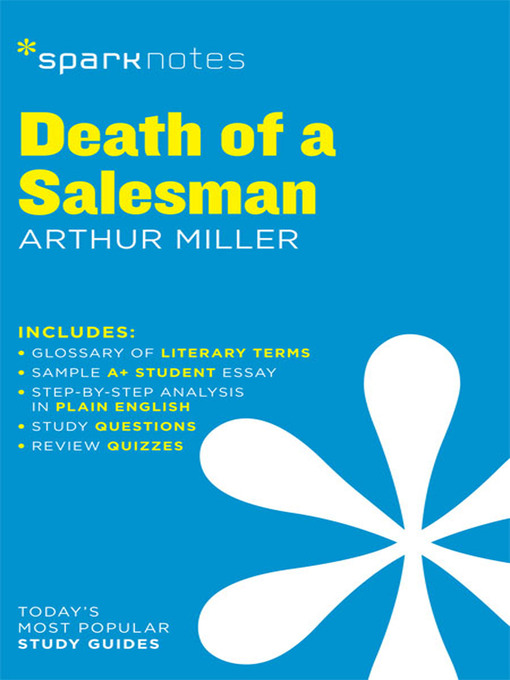 a comparison of hamlet by william shakespeare and death of a salesman by arthur miller