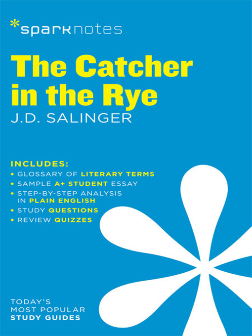 The Catcher In The Rye Sparknotes Literature Guide Monmouth