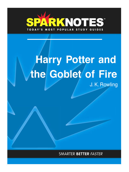 Harry Potter Book Cover Analysis : Harry potter and the goblet of fire sparknotes literature