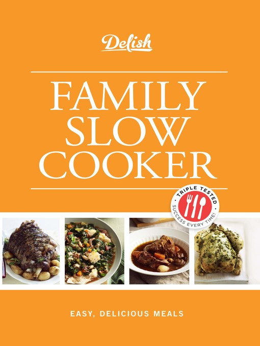 Cover of Delish Family Slow Cooker