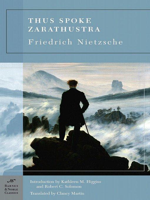 Title details for Thus Spoke Zarathustra by Friedrich Nietzsche - Wait list