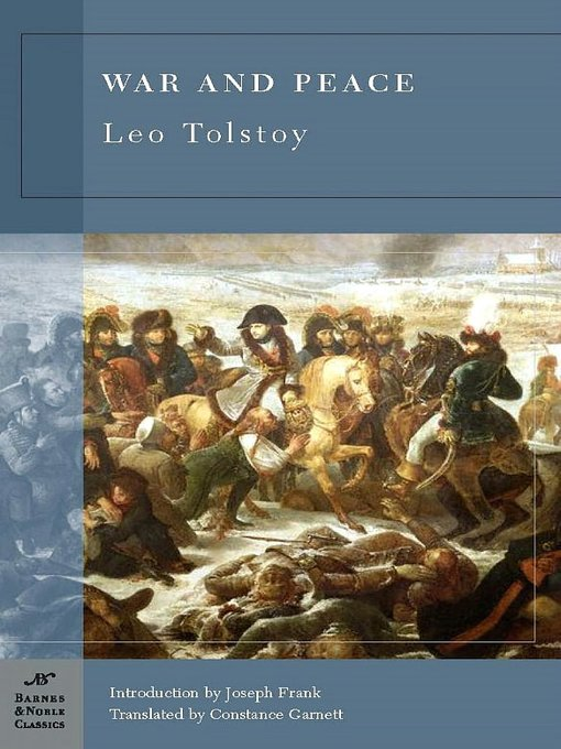an analysis of the war with napoleon in war and peace by leo tolstoy