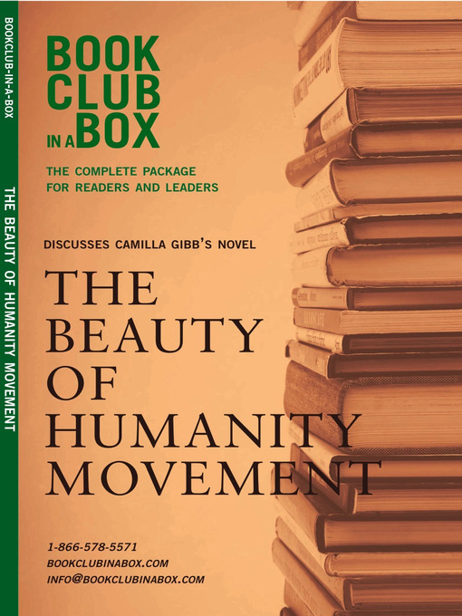 Title details for Bookclub-in-a-Box Discusses the Beauty of Humanity Movement, by Camilla Gibb by Marilyn Herbert - Available