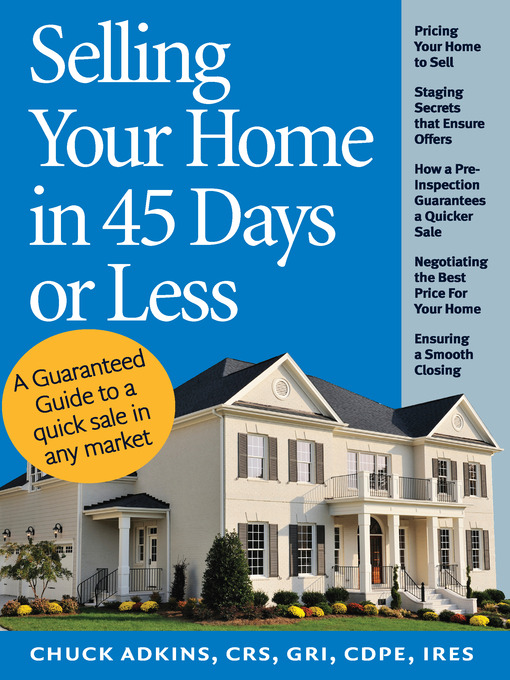Cover of Selling Your Home in 45 Days or Less
