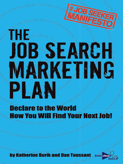 Title details for The Job Seeker Manifesto by Katherine Burik - Available