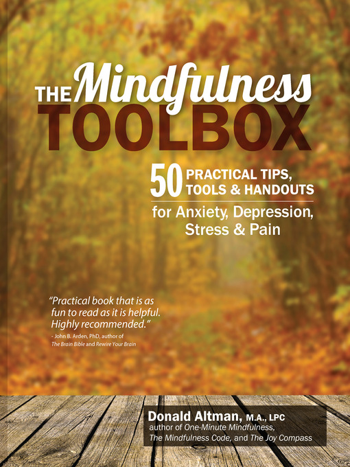 Title details for The Mindfulness Toolbox by Donald Altman - Available