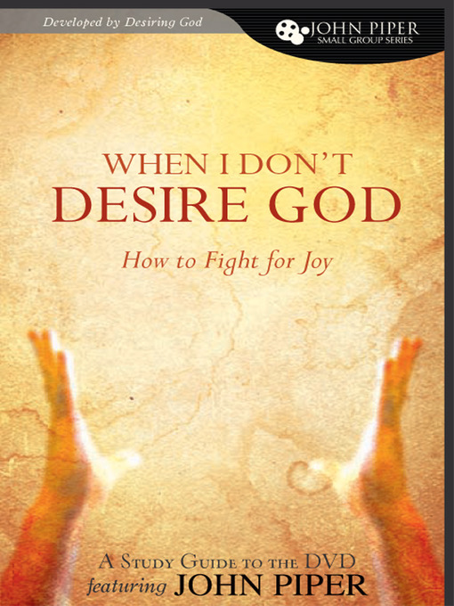 Cover of When I Don't Desire God