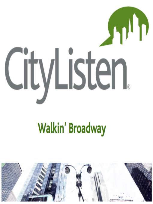 Title details for New York City - Walkin' Broadway by Jonathan Paisner - Available