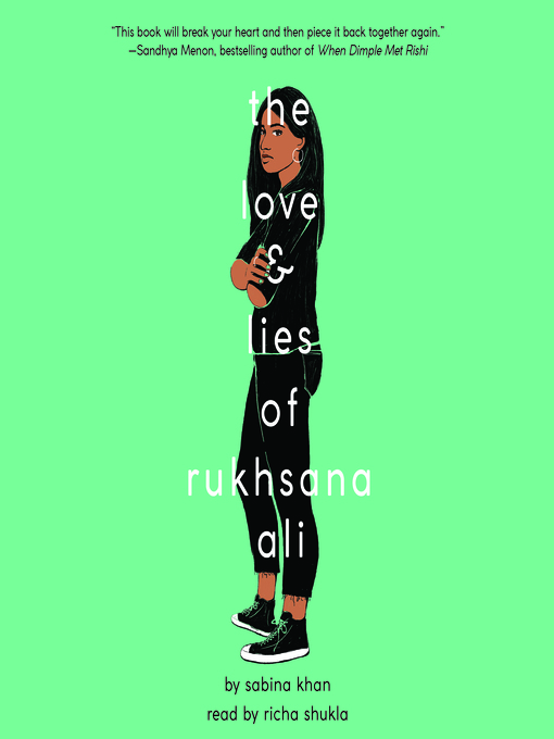 Title details for The Love and Lies of Rukhsana Ali by Sabina Khan - Wait list