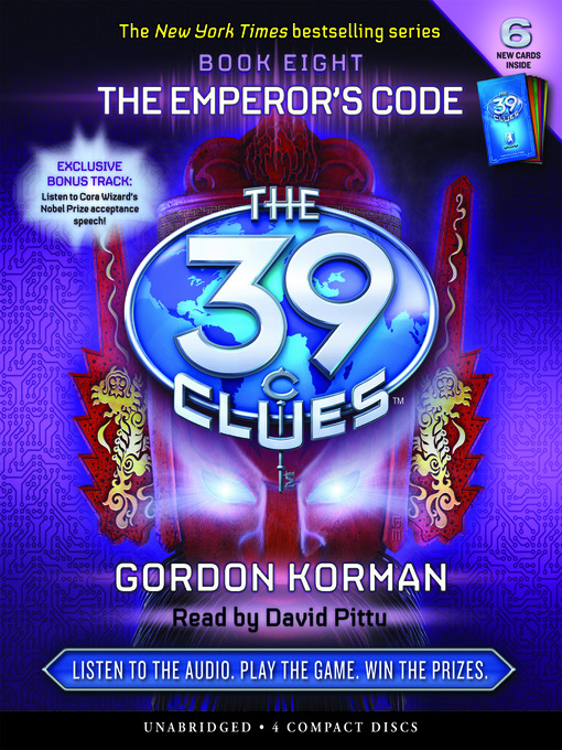 Title details for The Emperor's Code by Gordon Korman - Wait list