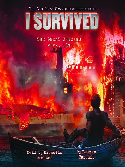 Cover of I Survived the Great Chicago Fire, 1871