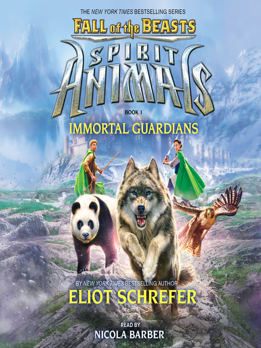 Title details for Immortal Guardians by Eliot Schrefer - Wait list