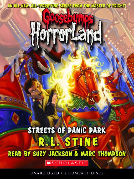 Title details for Streets of Panic Park by R. L. Stine - Wait list