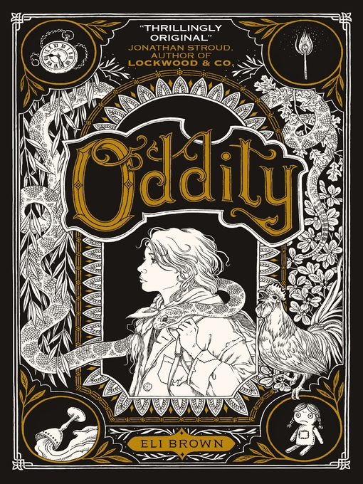 Title details for Oddity by Eli Brown - Wait list