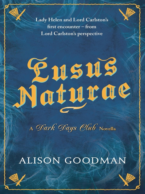 Title details for Lusus Naturae by Alison Goodman - Available