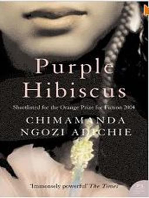 Purple Hibiscus Listening Books Overdrive