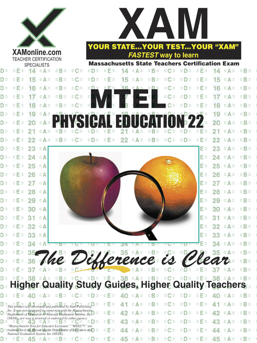 mtel physical education 22 - bay path university - overdrive