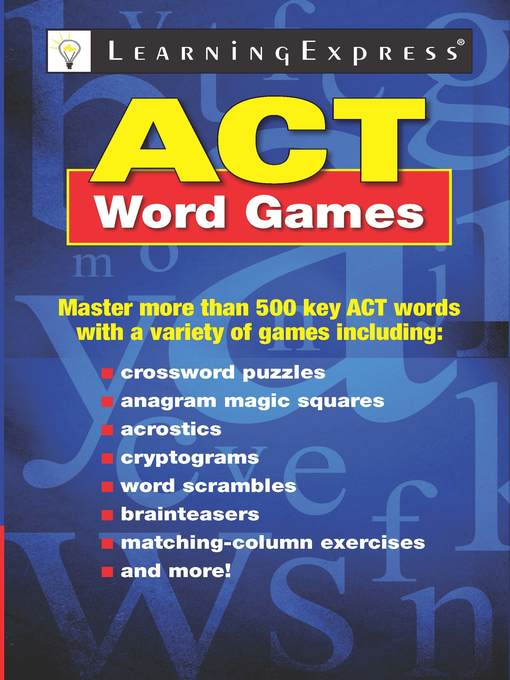 Title details for ACT Word Games by Learning Express, LLC - Available
