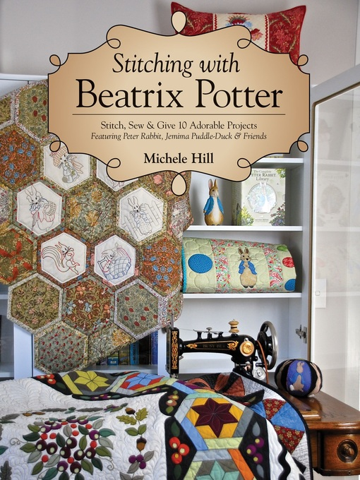Cover of Stitching with Beatrix Potter