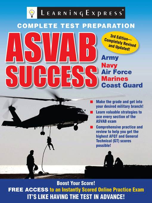 Title details for ASVAB Success by Learning Express Editors - Available