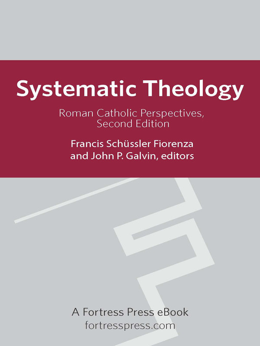 thesis on systematic theology Systematic theology in the life of the church and individual beliver date due: introduction according to (doran, 2005:5), systematic theology is primarily the organization of the teachings of the bible into definite systems.